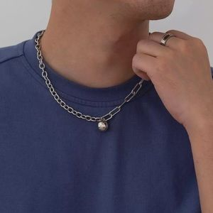 Other - 925 Asymmetric Chain Necklace
